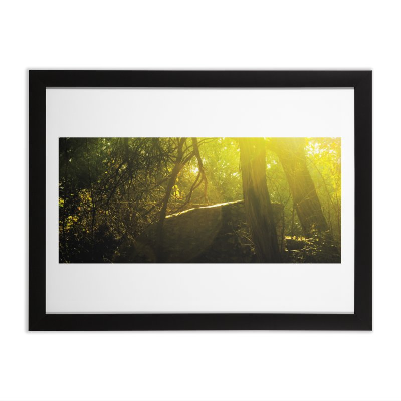 Enchanted morning Home Framed Fine Art Print by Kamaukai's Artist Shop