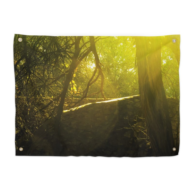 Enchanted morning Home Tapestry by Kamaukai's Artist Shop
