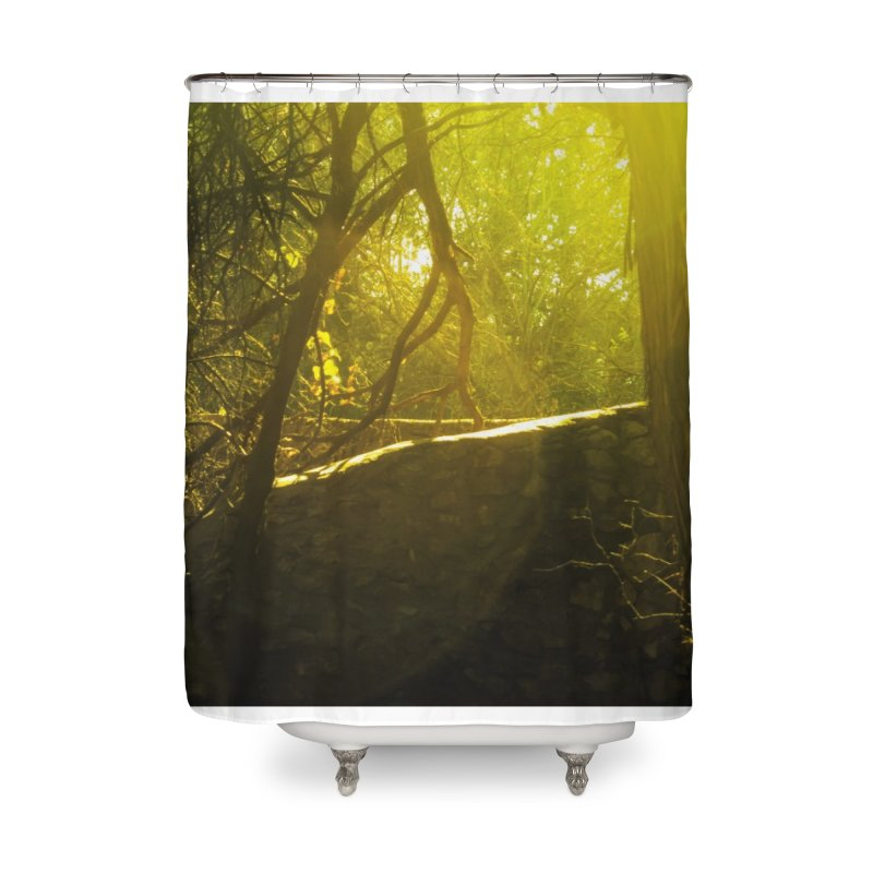 Enchanted morning Home Shower Curtain by Kamaukai's Artist Shop