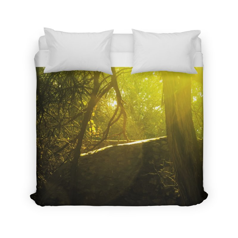 Enchanted morning Home Duvet by Kamaukai's Artist Shop