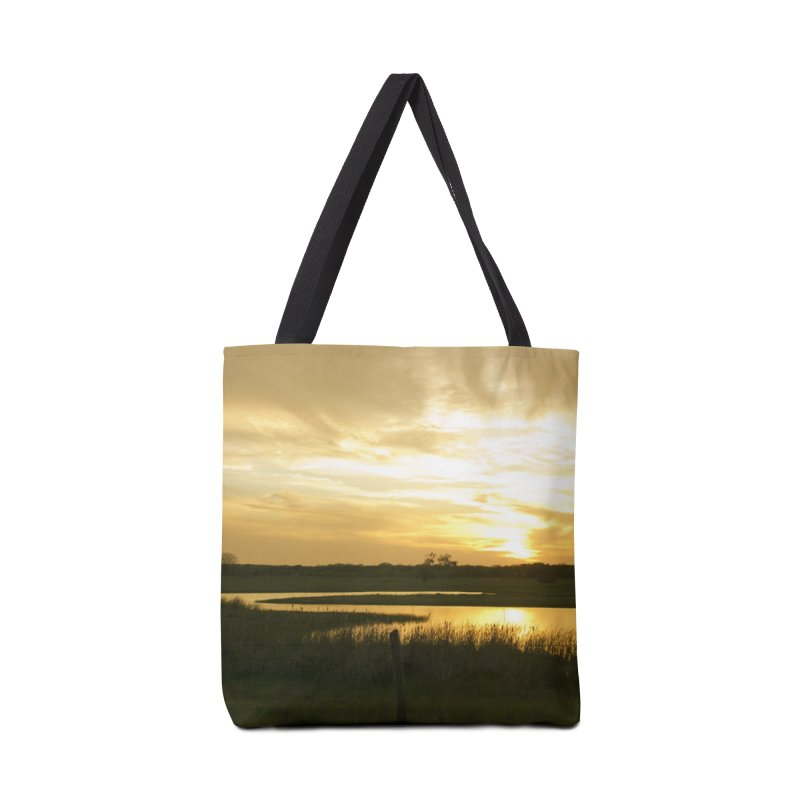 Country sunset Accessories Bag by Kamaukai's Artist Shop