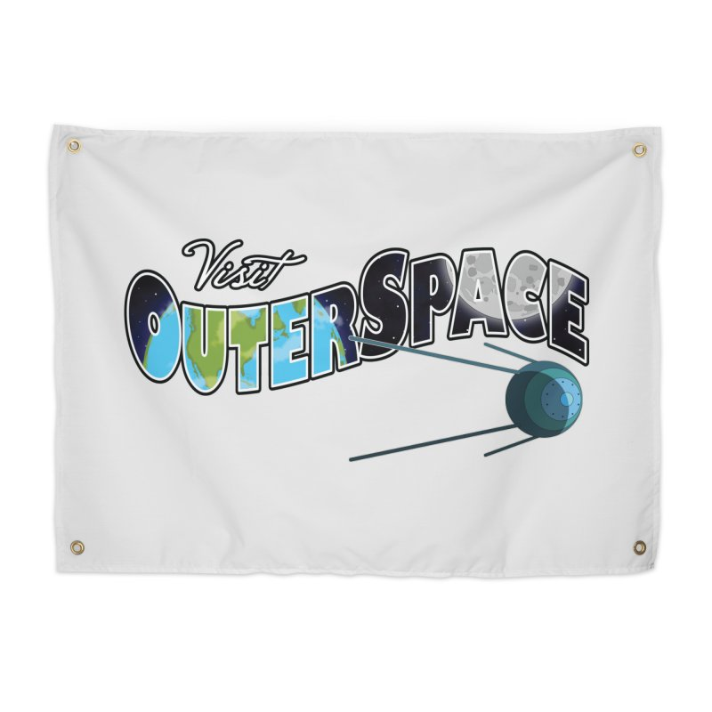 See The Stars, Visit Outer Space Home Tapestry by Kamonkey's Artist Shop