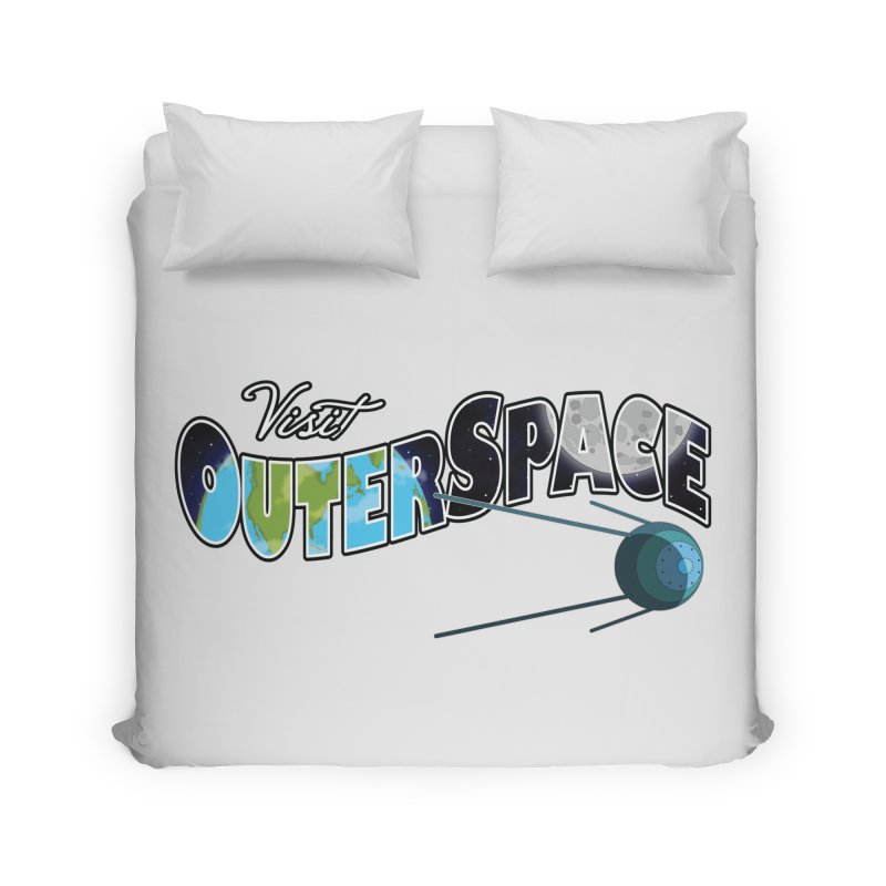 See The Stars, Visit Outer Space Home Duvet by Kamonkey's Artist Shop