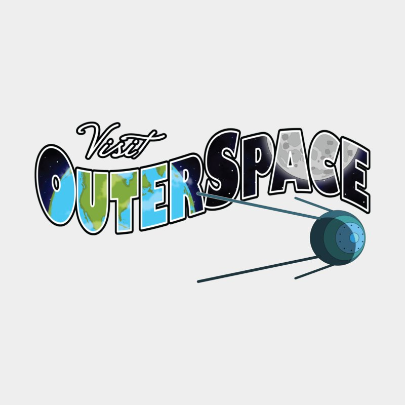 See The Stars, Visit Outer Space Men's V-Neck by Kamonkey's Artist Shop