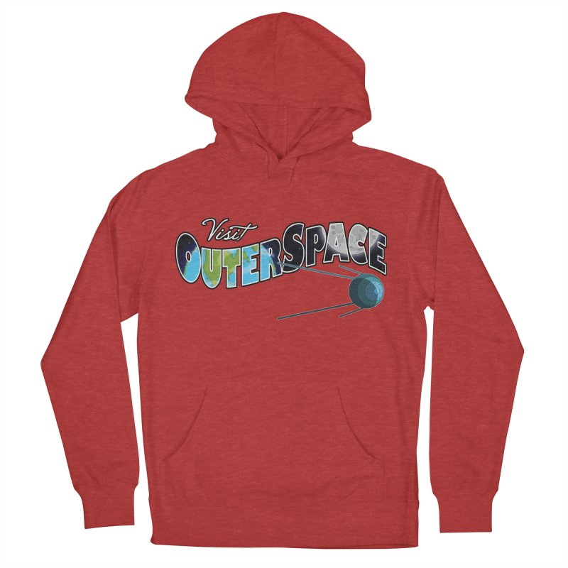 See The Stars, Visit Outer Space Men's Pullover Hoody by Kamonkey's Artist Shop