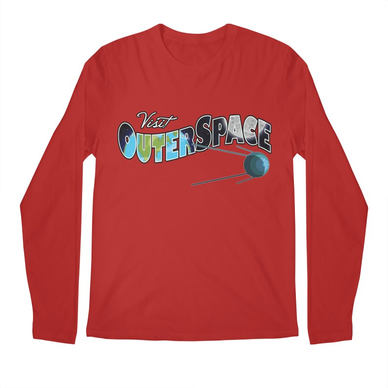 See The Stars, Visit Outer Space Men's Longsleeve T-Shirt by Kamonkey's Artist Shop