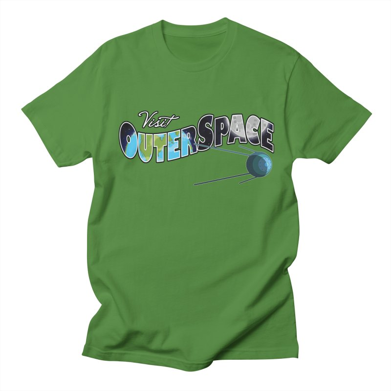 See The Stars, Visit Outer Space Women's Regular Unisex T-Shirt by Kamonkey's Artist Shop