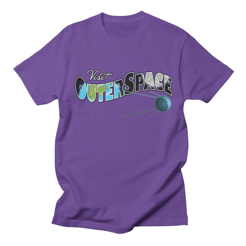 See The Stars, Visit Outer Space Men's Regular T-Shirt by Kamonkey's Artist Shop