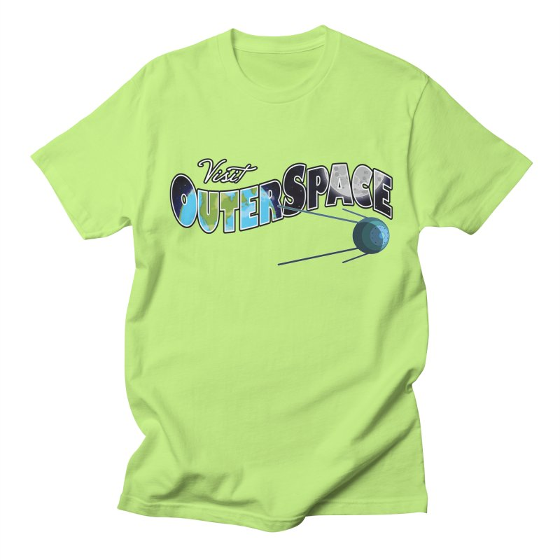See The Stars, Visit Outer Space Men's T-Shirt by Kamonkey's Artist Shop