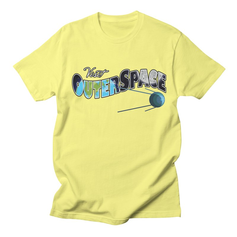 See The Stars, Visit Outer Space Women's Unisex T-Shirt by Kamonkey's Artist Shop