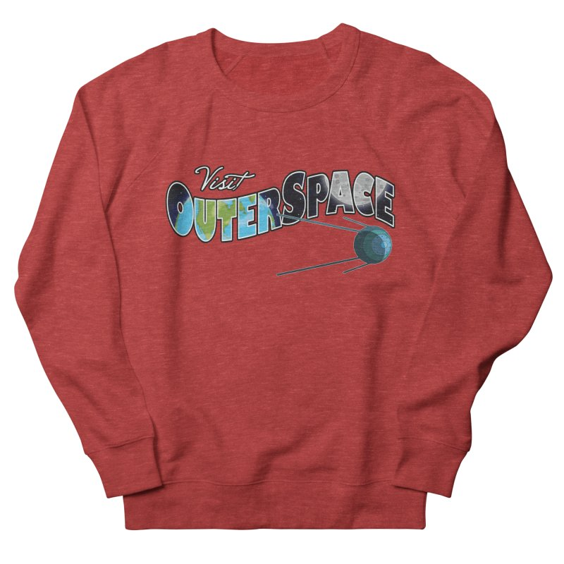 See The Stars, Visit Outer Space Women's Sweatshirt by Kamonkey's Artist Shop