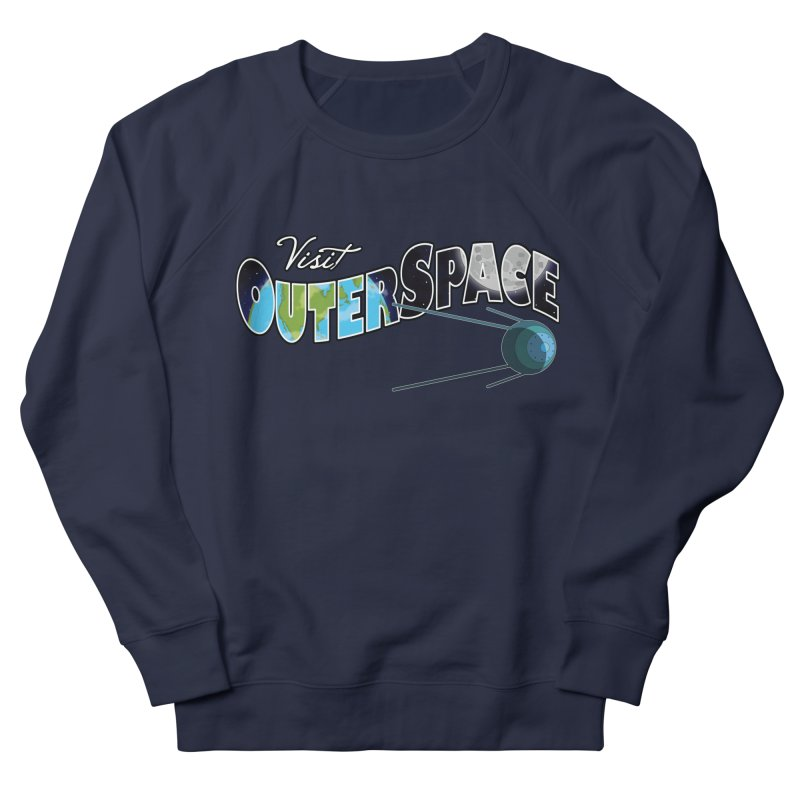 See The Stars, Visit Outer Space Men's Sweatshirt by Kamonkey's Artist Shop