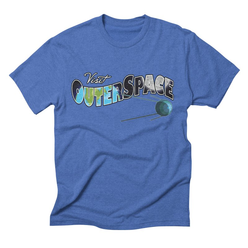See The Stars, Visit Outer Space Men's Triblend T-shirt by Kamonkey's Artist Shop