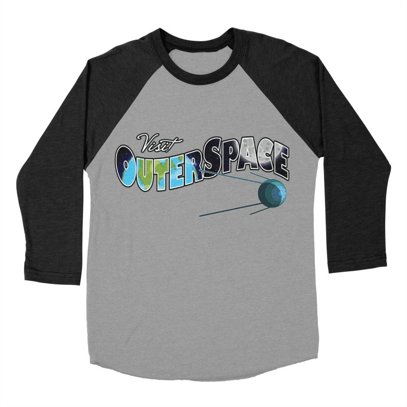 See The Stars, Visit Outer Space Women's Baseball Triblend T-Shirt by Kamonkey's Artist Shop