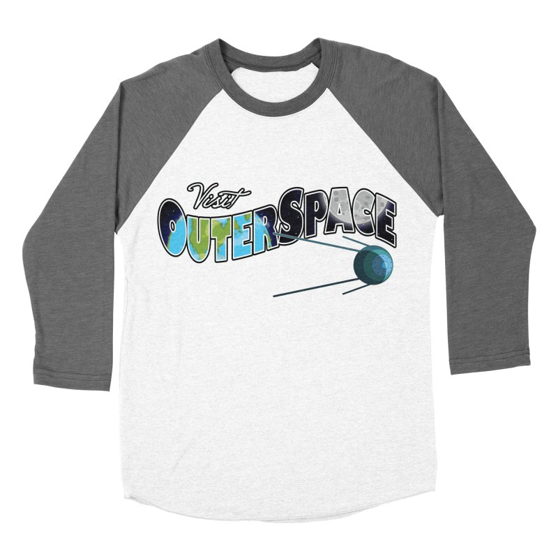 See The Stars, Visit Outer Space Men's Baseball Triblend T-Shirt by Kamonkey's Artist Shop