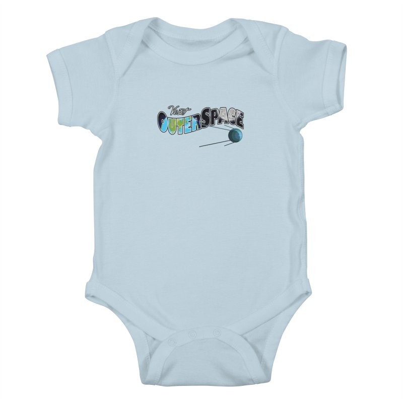 See The Stars, Visit Outer Space Kids Baby Bodysuit by Kamonkey's Artist Shop
