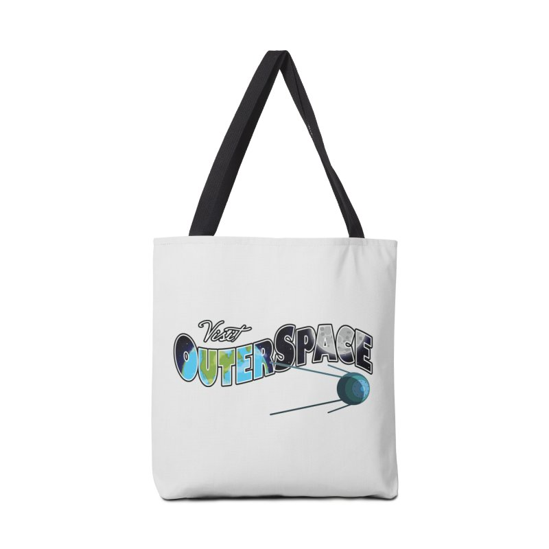 See The Stars, Visit Outer Space Accessories Bag by Kamonkey's Artist Shop
