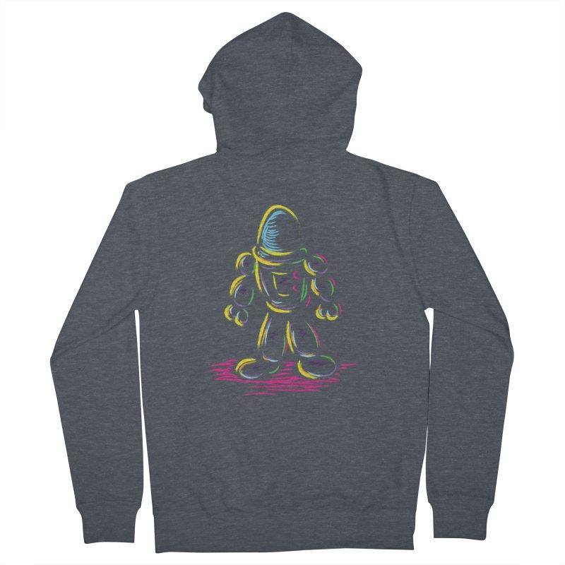 The Technicolor Kids Robot Men's French Terry Zip-Up Hoody by Kamonkey's Artist Shop