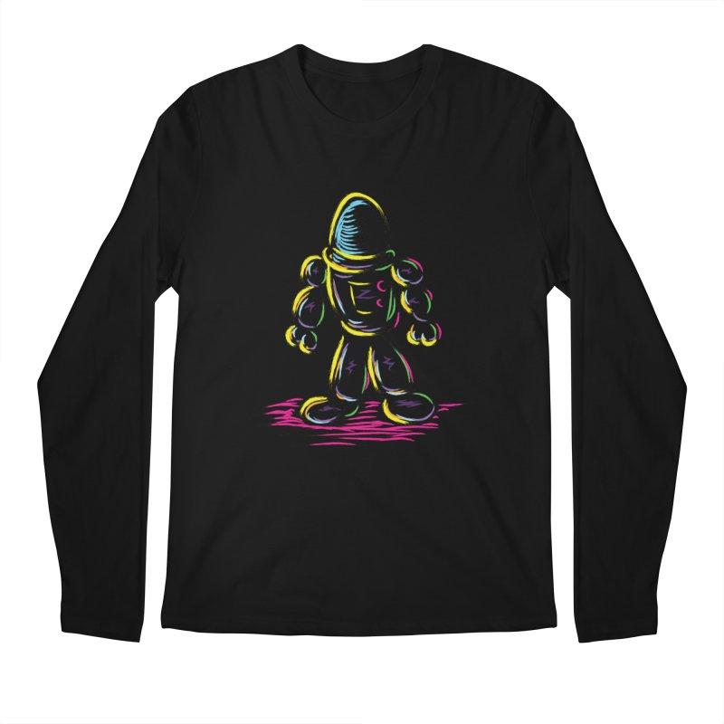 The Technicolor Kids Robot Men's Longsleeve T-Shirt by Kamonkey's Artist Shop