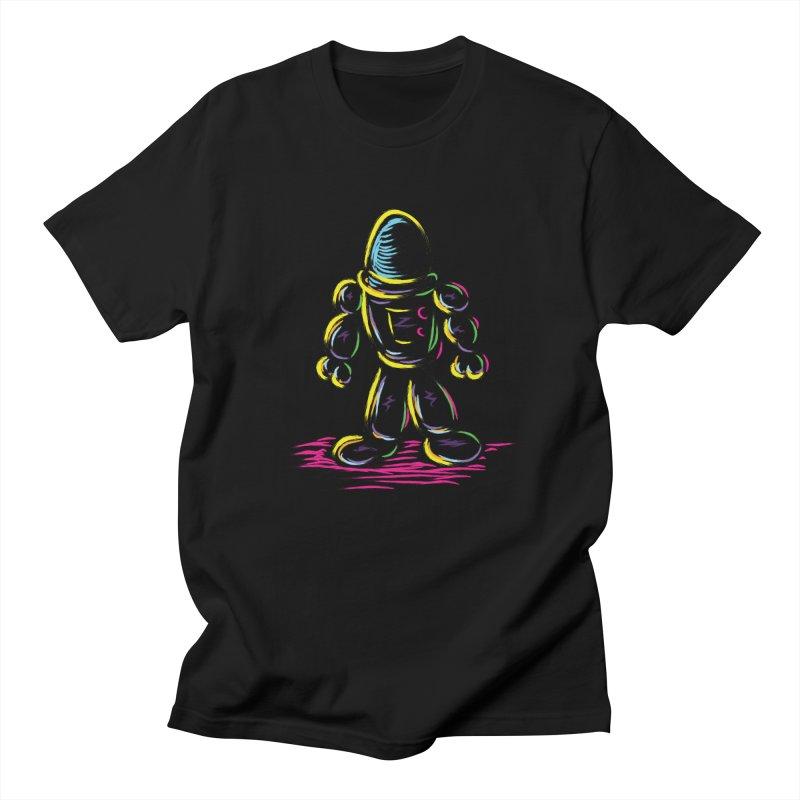 The Technicolor Kids Robot Women's Unisex T-Shirt by Kamonkey's Artist Shop