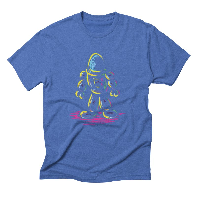 The Technicolor Kids Robot Men's Triblend T-Shirt by Kamonkey's Artist Shop