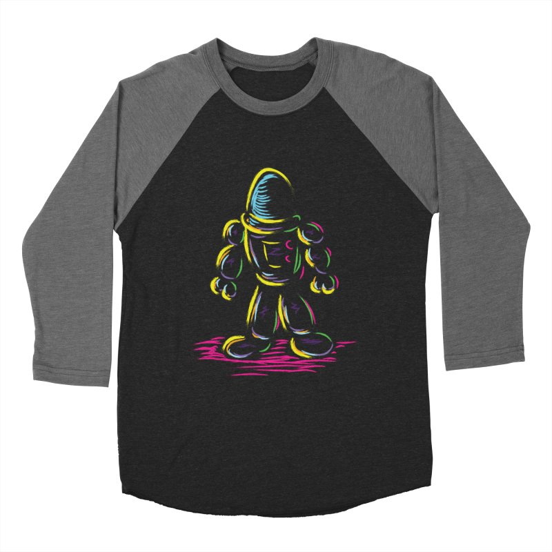 The Technicolor Kids Robot Men's Baseball Triblend T-Shirt by Kamonkey's Artist Shop