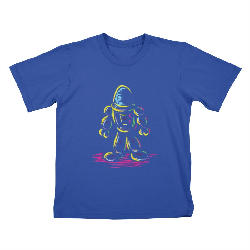 The Technicolor Kids Robot Kids T-Shirt by Kamonkey's Artist Shop