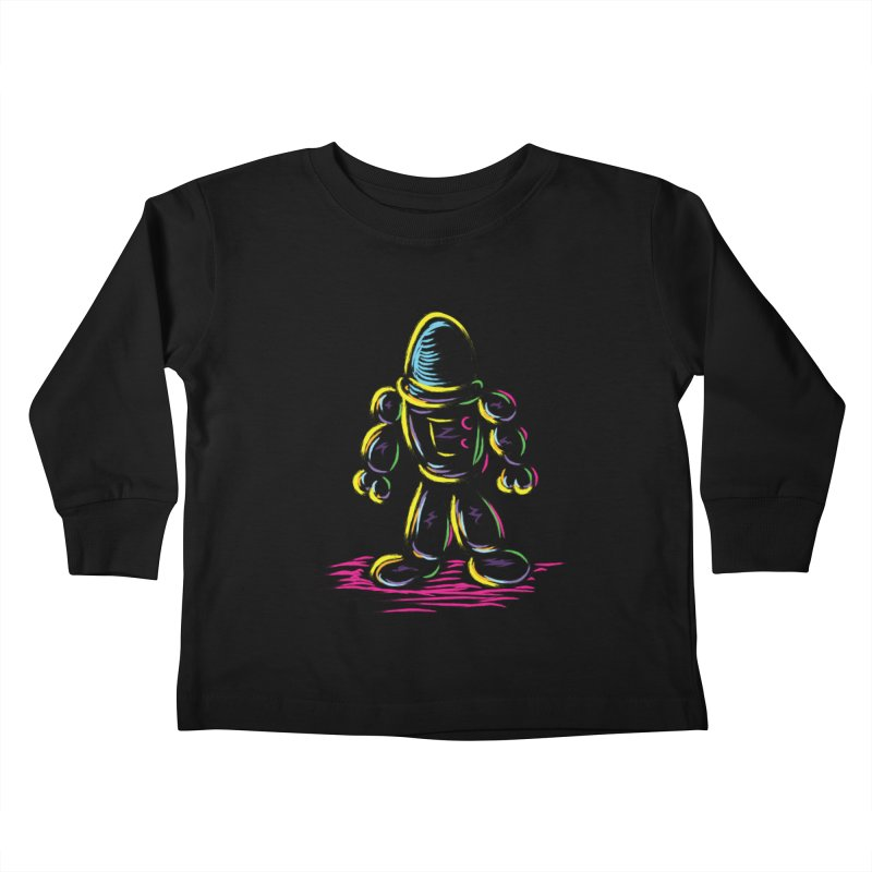 The Technicolor Kids Robot Kids Toddler Longsleeve T-Shirt by Kamonkey's Artist Shop