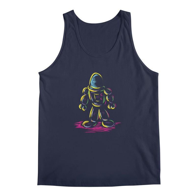 The Technicolor Kids Robot Men's Tank by Kamonkey's Artist Shop