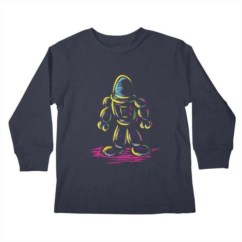 The Technicolor Kids Robot Kids Longsleeve T-Shirt by Kamonkey's Artist Shop
