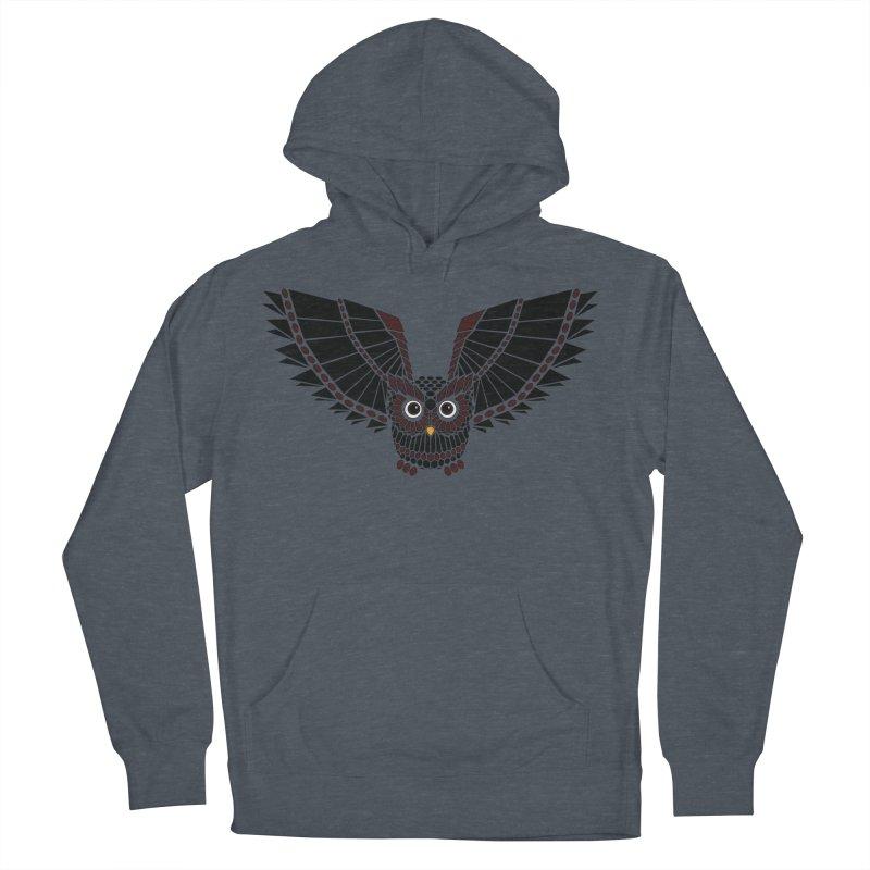 The Great Geometric Owl Men's Pullover Hoody by Kamonkey's Artist Shop