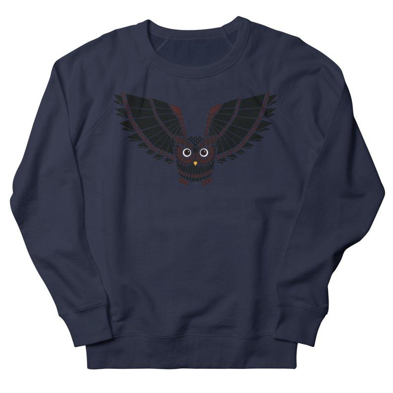 The Great Geometric Owl Women's Sweatshirt by Kamonkey's Artist Shop
