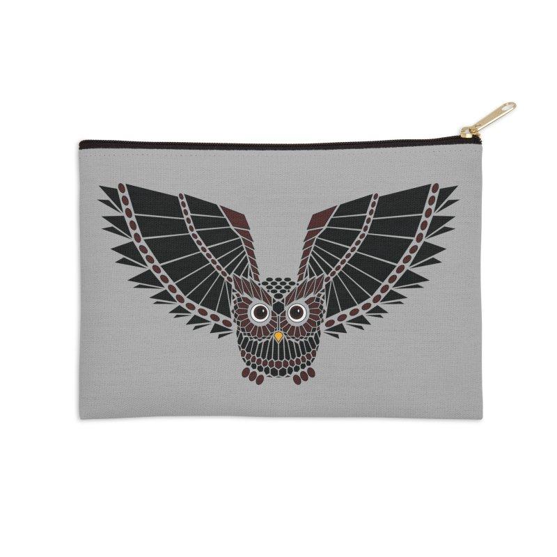 The Great Geometric Owl   by Kamonkey's Artist Shop