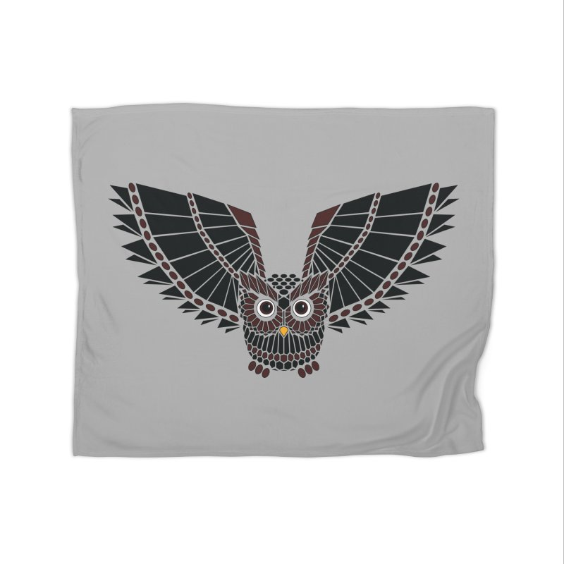 The Great Geometric Owl   by Kamonkey's Artist Shop