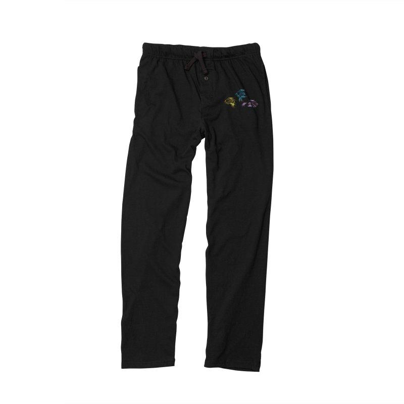 Neon Betta Fish Women's Lounge Pants by Kamonkey's Artist Shop