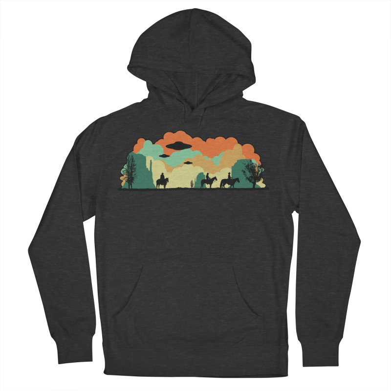 Cowboys & Aliens Women's French Terry Pullover Hoody by Kamonkey's Artist Shop