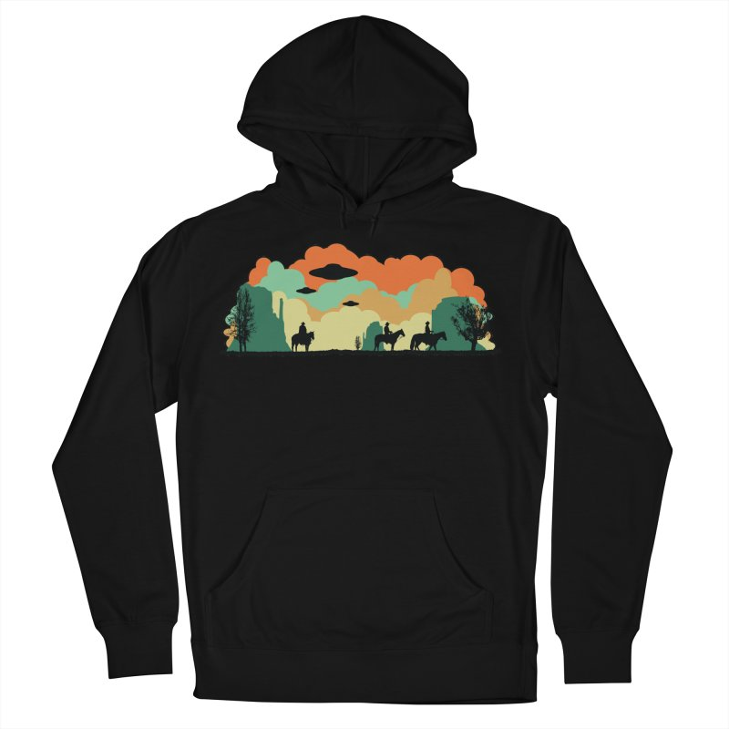 Cowboys & Aliens Men's French Terry Pullover Hoody by Kamonkey's Artist Shop