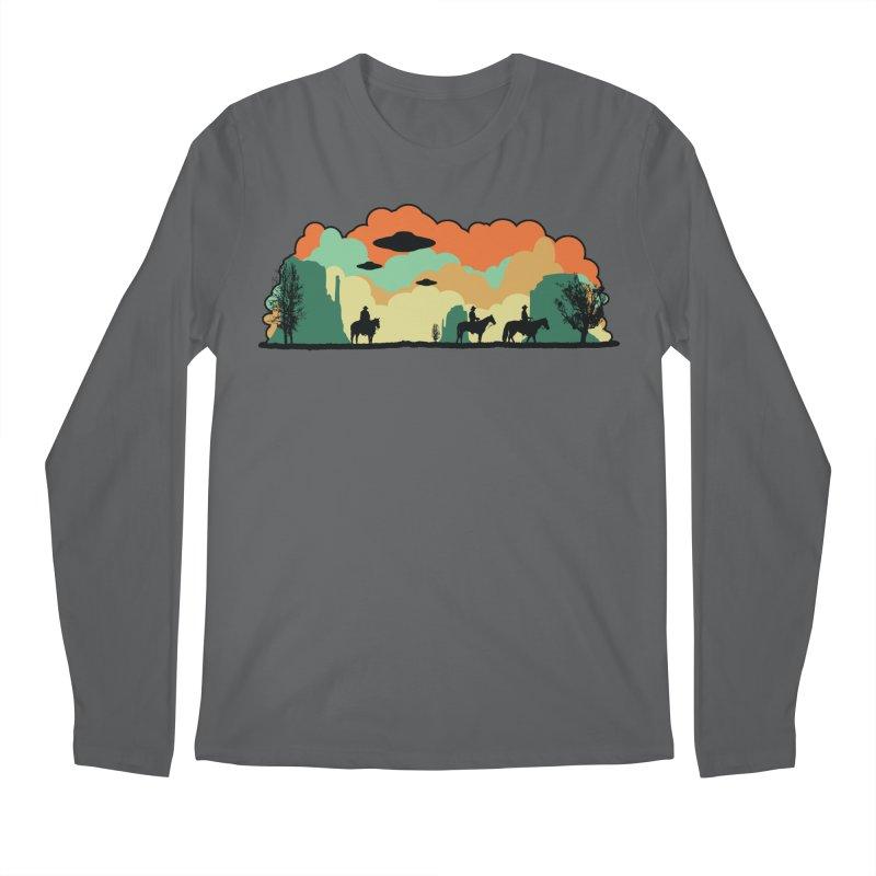 Cowboys & Aliens Men's Regular Longsleeve T-Shirt by Kamonkey's Artist Shop