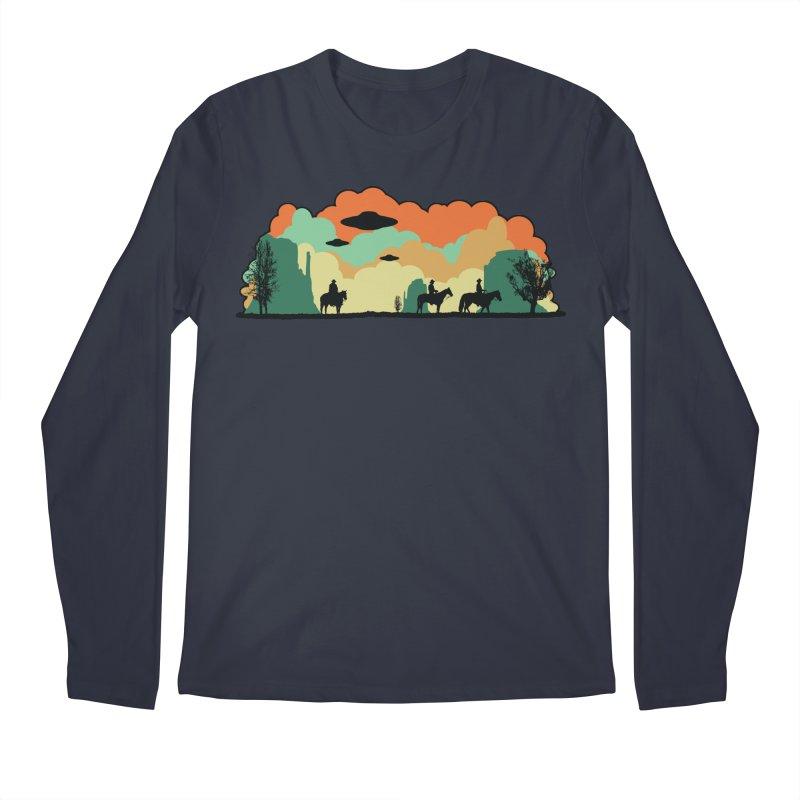 Cowboys & Aliens Men's Longsleeve T-Shirt by Kamonkey's Artist Shop