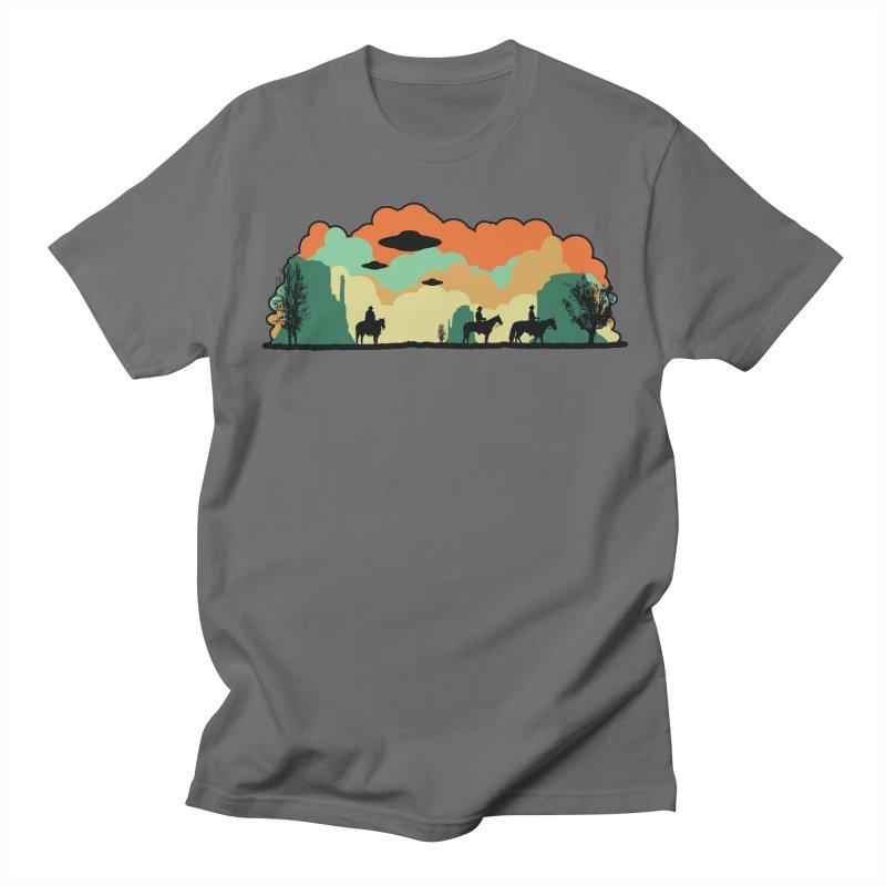 Cowboys & Aliens Men's T-shirt by Kamonkey's Artist Shop