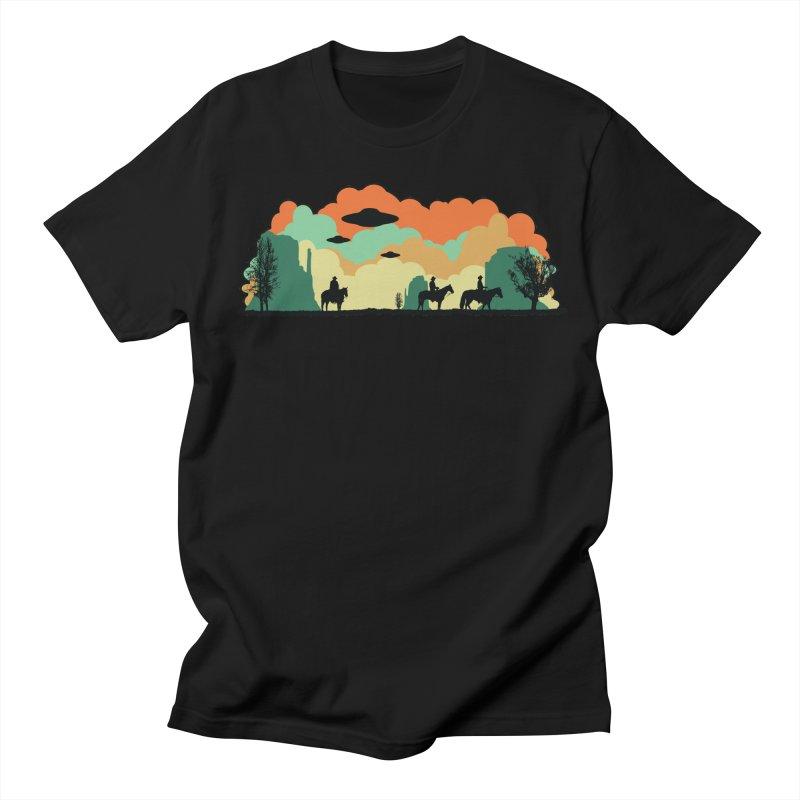 Cowboys & Aliens Women's Regular Unisex T-Shirt by Kamonkey's Artist Shop