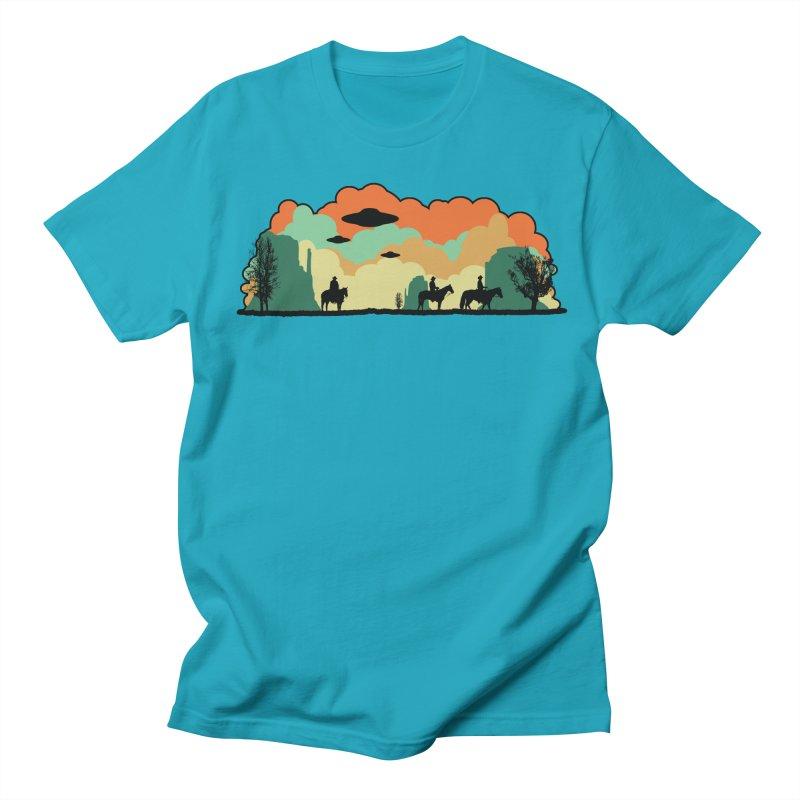 Cowboys & Aliens Women's Unisex T-Shirt by Kamonkey's Artist Shop