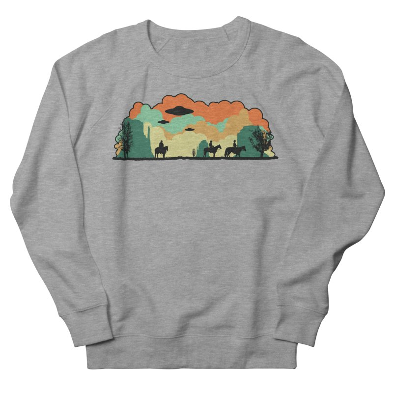 Cowboys & Aliens Women's French Terry Sweatshirt by Kamonkey's Artist Shop