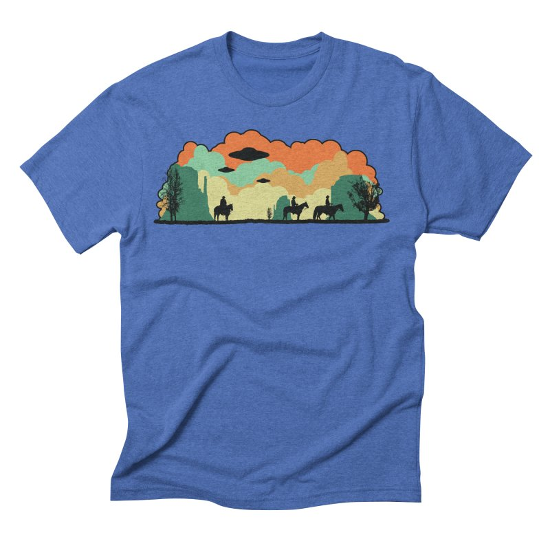 Cowboys & Aliens Men's Triblend T-Shirt by Kamonkey's Artist Shop