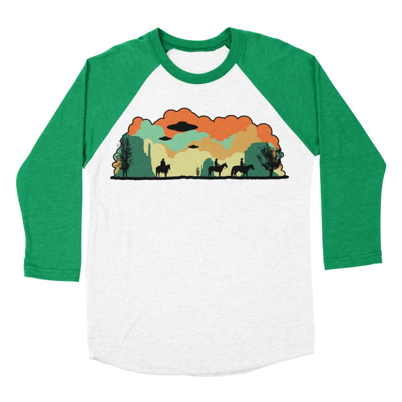 Cowboys & Aliens Women's Baseball Triblend T-Shirt by Kamonkey's Artist Shop