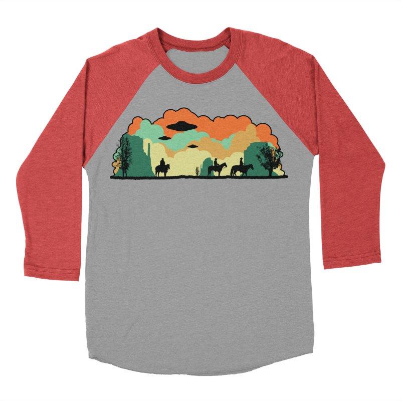 Cowboys & Aliens Women's Baseball Triblend Longsleeve T-Shirt by Kamonkey's Artist Shop