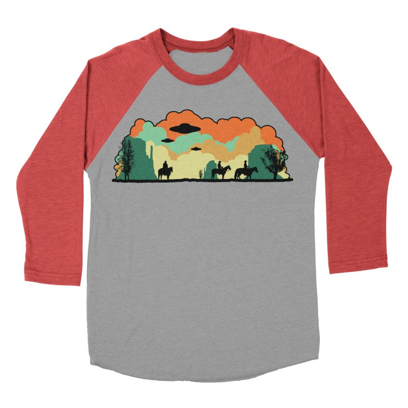 Cowboys & Aliens Men's Baseball Triblend Longsleeve T-Shirt by Kamonkey's Artist Shop