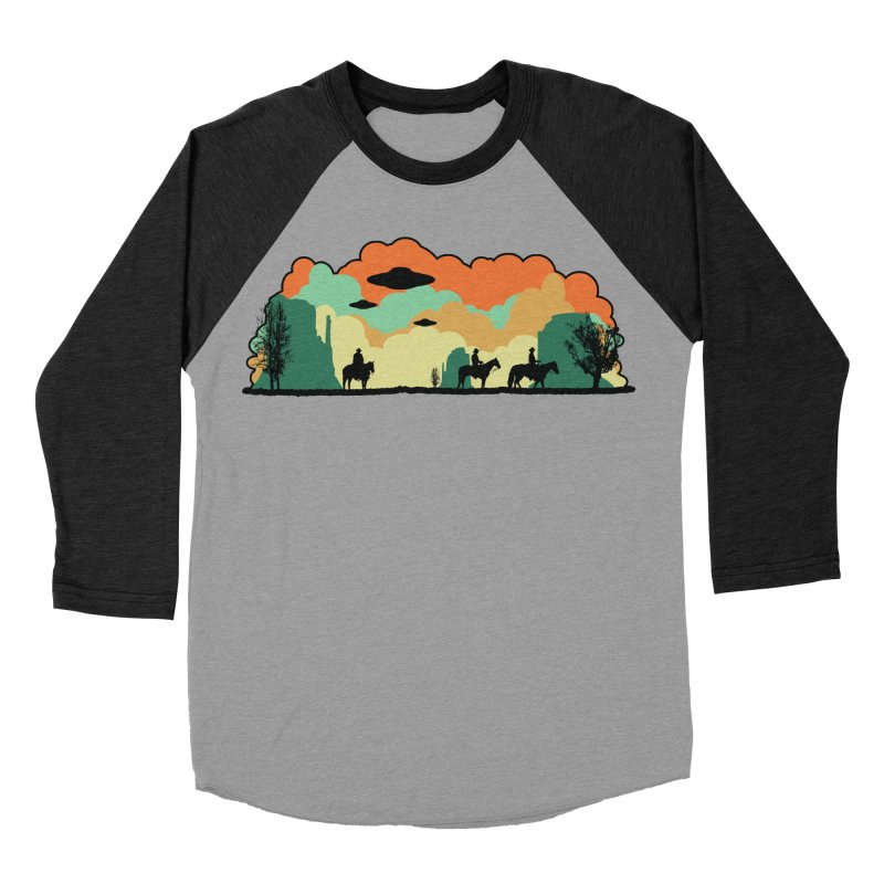 Cowboys & Aliens Men's Baseball Triblend Longsleeve T-Shirt by Kamonkey's Artist Shop