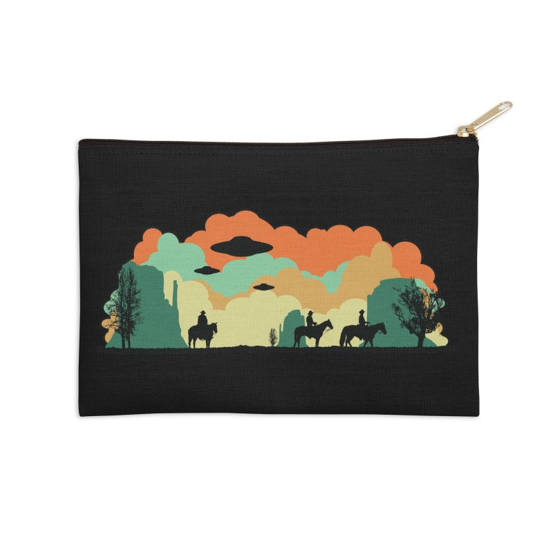 Cowboys & Aliens Accessories Zip Pouch by Kamonkey's Artist Shop