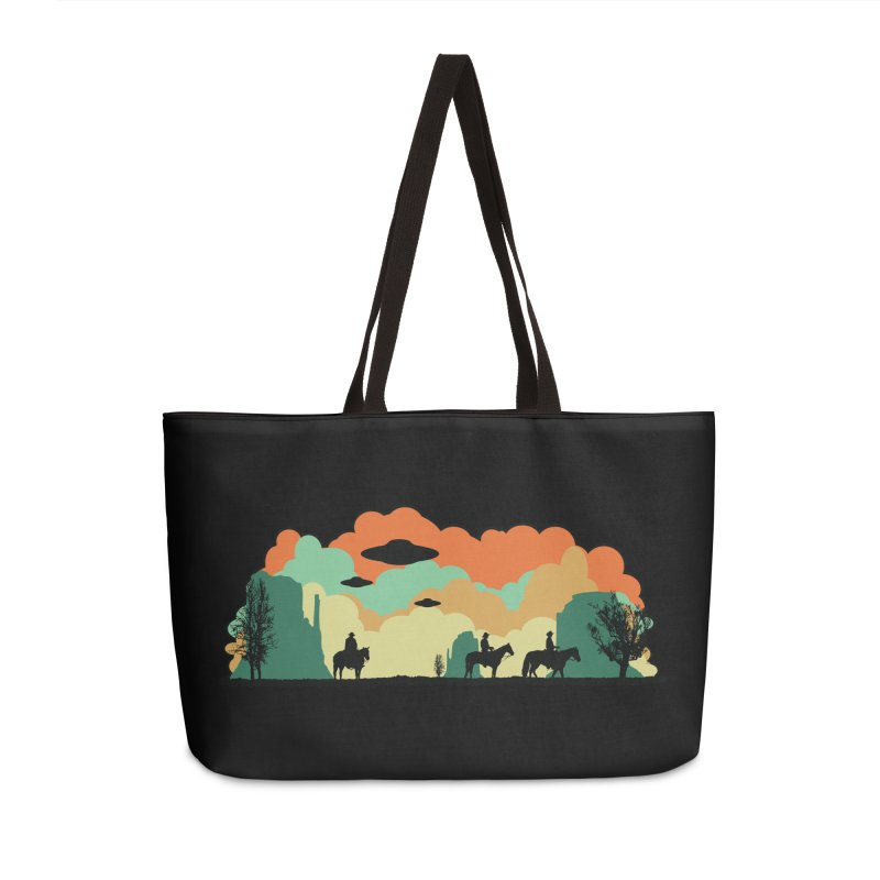 Cowboys & Aliens Accessories Weekender Bag Bag by Kamonkey's Artist Shop